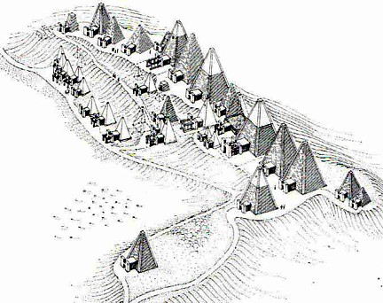 meroe mapa piramides
